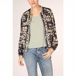 Maison Scotch Blazer Printed Reversible Bomber Marineblauw/Assortiment