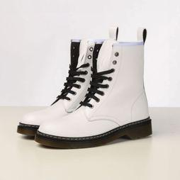 Hee Boot 19453 white