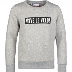 Vive le Velo Pullover S-Bigbox Light Grey Mixture