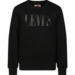 Levi's Kids Pullover Graphic Crew black