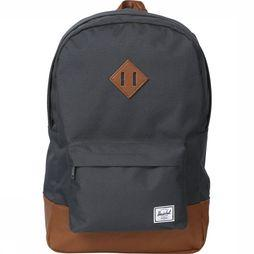 Herschel Supply Daypack Heritage dark grey/mid brown