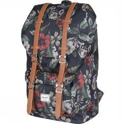 Herschel Supply Daypack Little America Classics Assortment Flower/mid brown