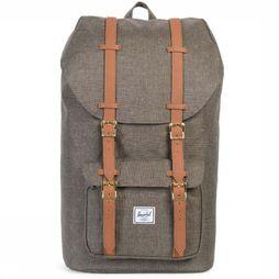 Herschel Supply Daypack Little America Classics dark khaki
