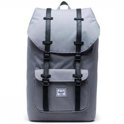 Herschel Supply Daypack Little America Classics mid grey/black