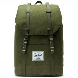 Herschel Supply Sac à Dos Retreat Kaki Foncé