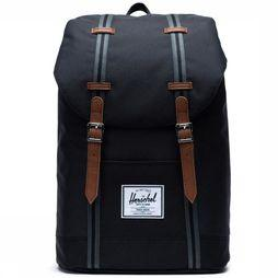 Herschel Supply Rugzak Retreat Zwart/Assortiment