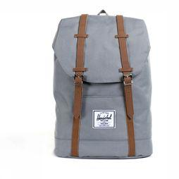 Herschel Supply Sac à Dos Retreat Gris Clair/Chameau