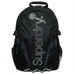 Superdry Daypack Hexline Tech Tarp Backpack black