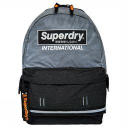 Superdry Dagrugzak International Camo Montana Middenblauw/Donkerblauw