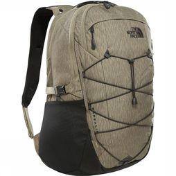 The North Face Dagrugzak Borealis 28L Donkerkaki/Zwart