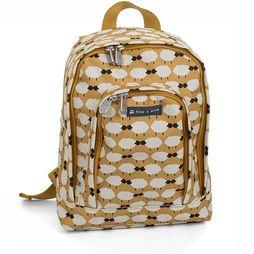 Froy & Dind Daypack Children For Children dark yellow/off white