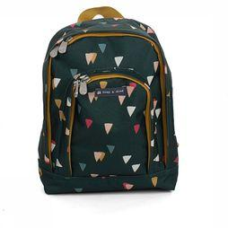 Froy & Dind Sac à Dos Backpack For Children Vert Foncé/Assortiment