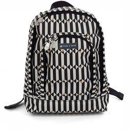 Froy & Dind Sac à Dos Backpack For Children Noir/Blanc Cassé