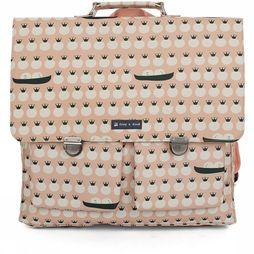 Froy & Dind School Bag Schooler light pink/off white