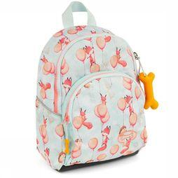 Stones and Bones Daypack Laurel light blue/light pink
