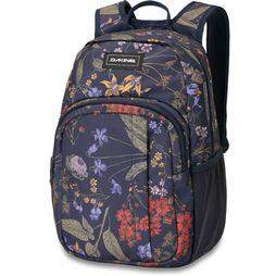 Dakine Daypack Campus S 18L dark blue/Assortment Flower