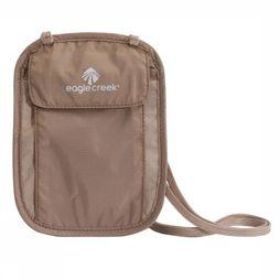 Eagle Creek Securitybag Uc Underc Neck Wallet light khaki