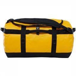 The North Face Travel Bag Base Camp Duffel S/50L gold/black