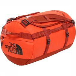 The North Face Travel Bag Base Camp Duffel S/50L orange/mid red