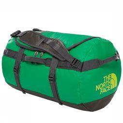 The North Face Reistas Base Camp Duffel S Middengroen/Donkergrijs