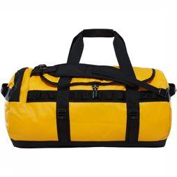 The North Face Travel Bag Base Camp Duffel M/71L gold/black