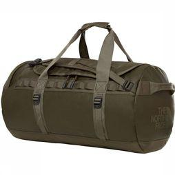 The North Face Travel Bag Base Camp Duffel M/71L dark green/dark grey