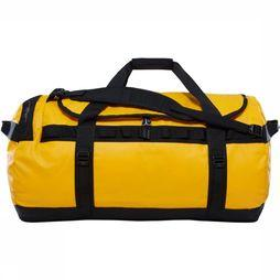 The North Face Travel Bag  Base Camp Duffel L/95L gold/black