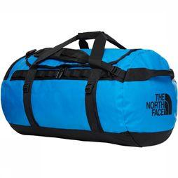 The North Face Travel Bag  Base Camp Duffel L/95L mid blue/black