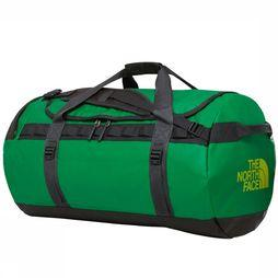 The North Face Travel Bag  Base Camp Duffel L/95L mid green/dark grey