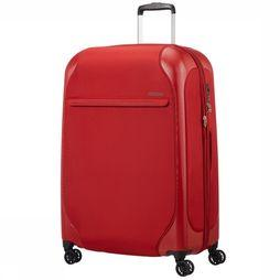 American Tourister Trolley Skyglider Spinner 76/28 Exp Middenrood