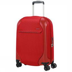American Tourister Cabin Luggage Skyglider Spinner 55/20 mid red
