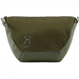 Haglöfs Shoulder Bag Kisel Small dark khaki