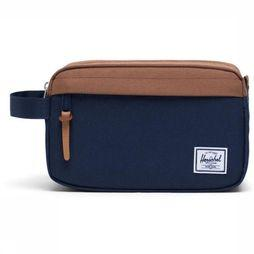 Herschel Supply Chapter Dopp Kit dark blue/mid brown