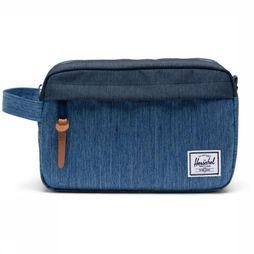 Herschel Supply Chapter Dopp Kit Bleu De Jeans/indigo