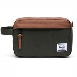 Herschel Supply Chapter Dopp Kit dark khaki/brown
