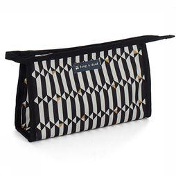 Froy & Dind Wash Bag Large black/off white