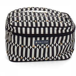 Froy & Dind Wash Bag Vanity Case black/off white