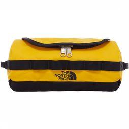 The North Face Wash Bag Base Camp Travel Canister S yellow