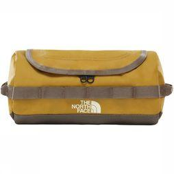 The North Face Wash Bag Base Camp Travel Canister S mid brown/mid khaki