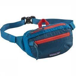 Patagonia Sac Banane Lightweight Travel Bleu/Rouge