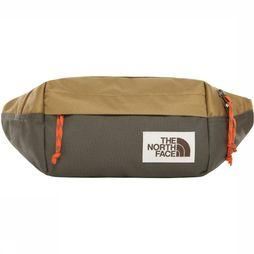 The North Face Heuptas Lumbar Pack Taupe/Donkergroen
