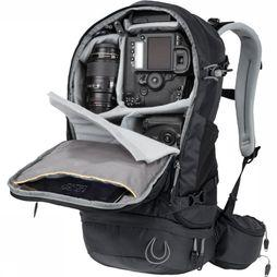 Jack Wolfskin Camera Bag Satellite Photo black/dark grey