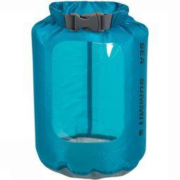 Sea To Summit Waterdichte Zak Ultra-Sil View Dry Sack 1L Middenblauw