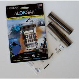 Loksak Waterproof Bag 11,2 X 18,4cm No Colour