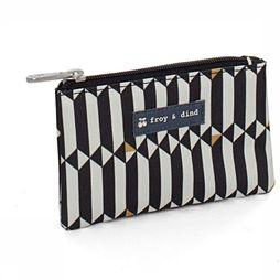 Froy & Dind Purse Money black/off white