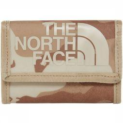 The North Face Portefeuille Base Camp Wallet Lichtbruin/Middenkaki