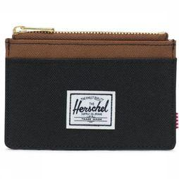 Herschel Supply Wallet  Oscar black/camel