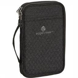 Eagle Creek Security Bag RFID Travel Zip Organizer black/dark grey