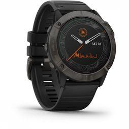 Garmin Sportswatch Fenix 6X Pro Solar dark grey