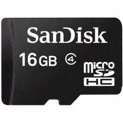 Sandisk Gps Acc 16Gb Micro SDHC No Colour